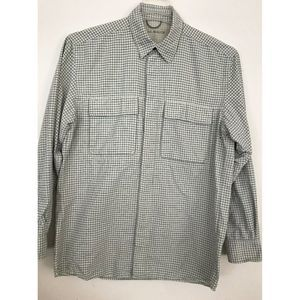 Eddie Bauer Men Vented Button Up L/S Fishing
